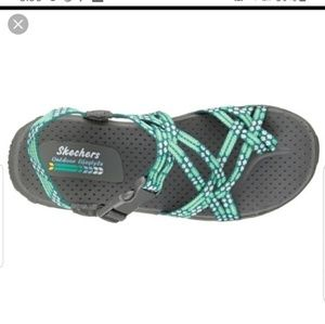 Skechers Outdoor Lifestyle Teal Gray Sandals